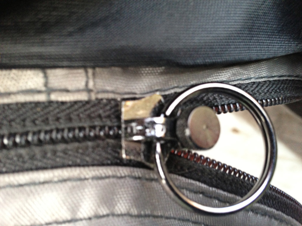 Fixed Zipper Closeup