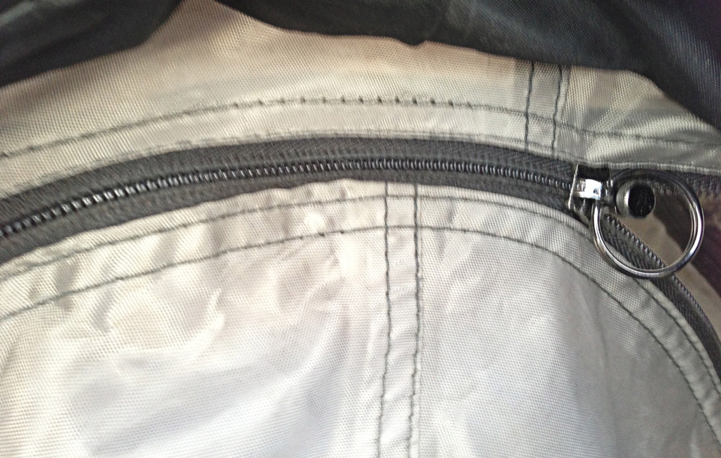 Fixed Zipper