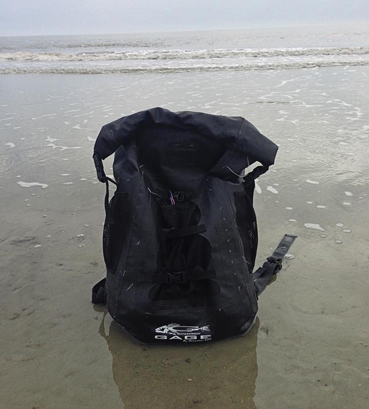 WeStroke : Waterproof Grundens Gage 30 Liter Backpack Review