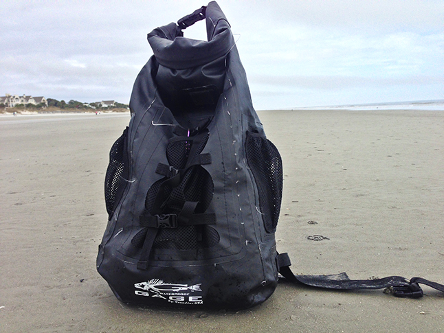 WeStroke : Waterproof Grundens Gage 30 Liter Backpack Review
